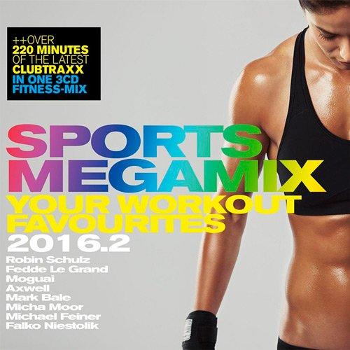 Sports Megamix 2016.2 - Your Workout Favourites (2016)