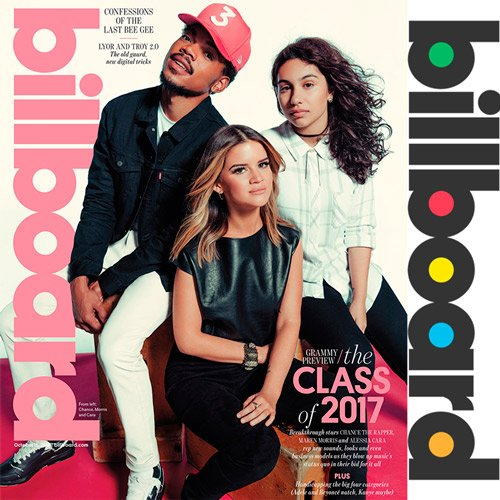 Billboard Hot 100 Singles Chart 05.11.2016 (2016)