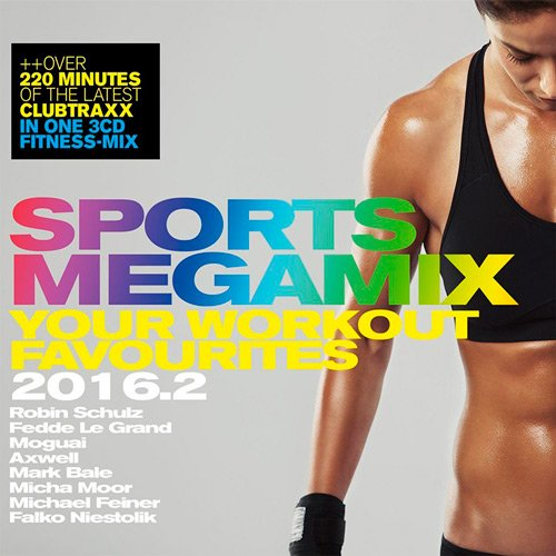 Sports Megamix 2016.2 - Your Workout Favourites (2016)
